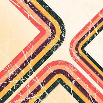 Retro grunge style background with stripes