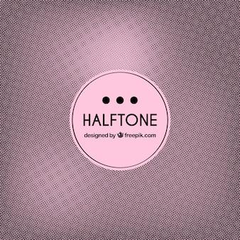 Retro halftone background
