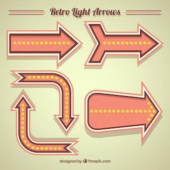 Retro light arrows