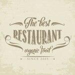 Retro logo for a restaurant