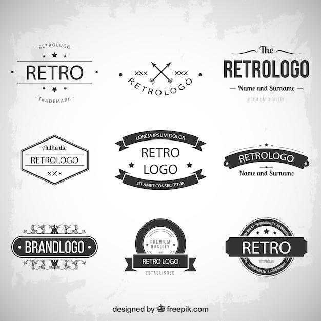 Vintage Logo Vectors, Photos and PSD files | Free Download