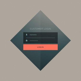 Rhombus login template