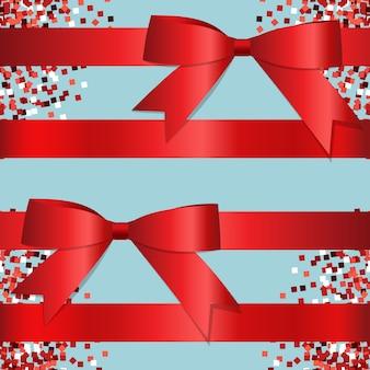 Ribbons background design