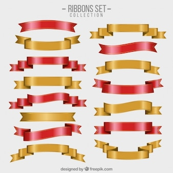 Ribbons set collection