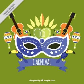 Rio de janeiro carnival background