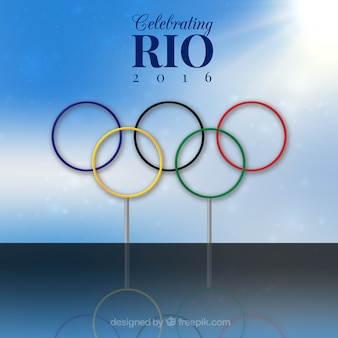 Rio olimpic games background