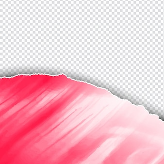 Ripped paper style watercolor background