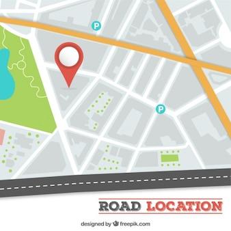 Road location