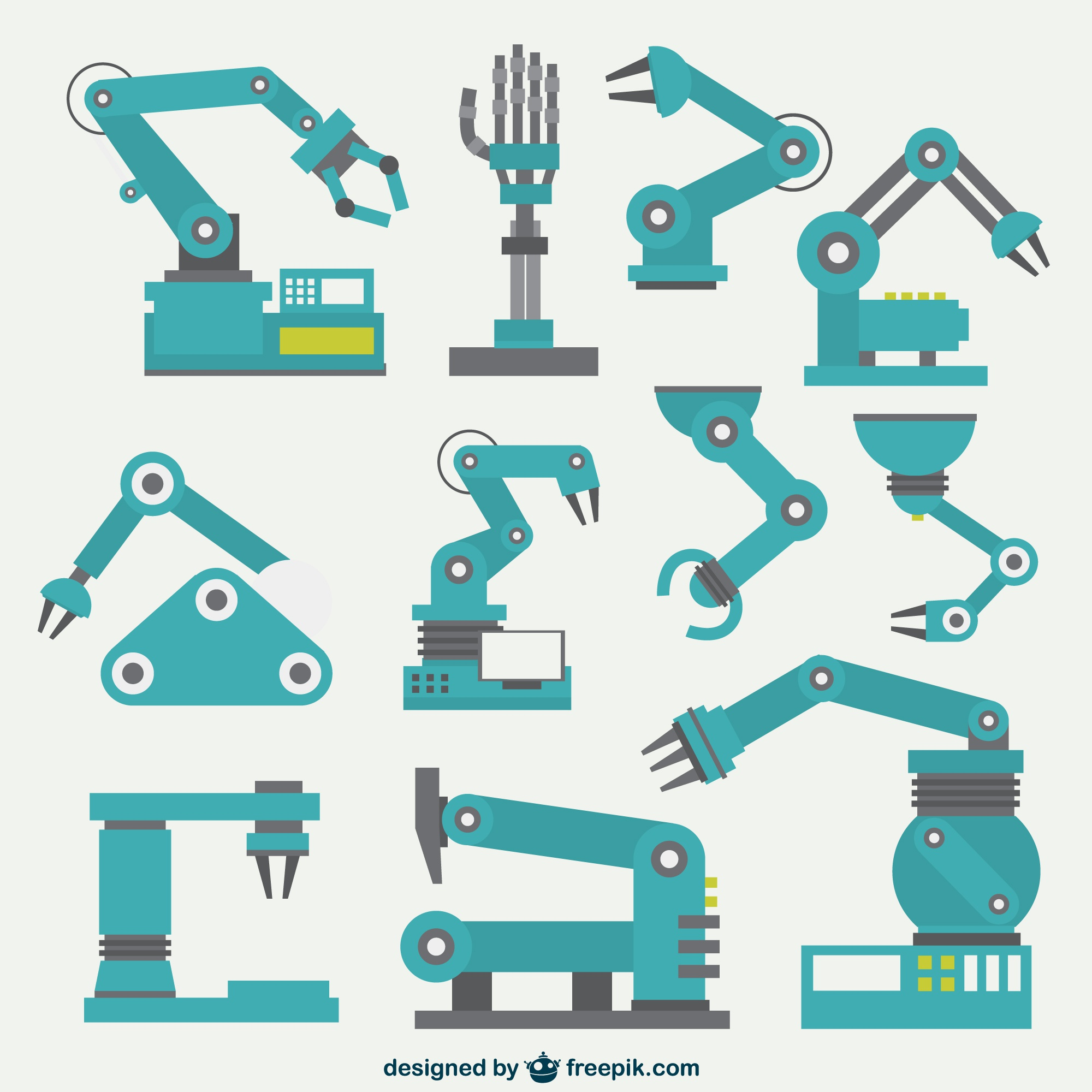 Robotic arms collection