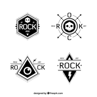 Rock band logo collection