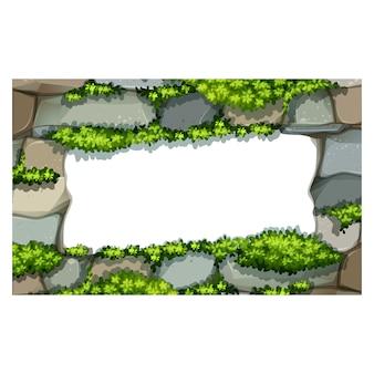 Rock frame background