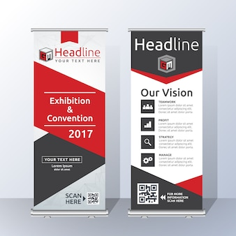 Roll up template design