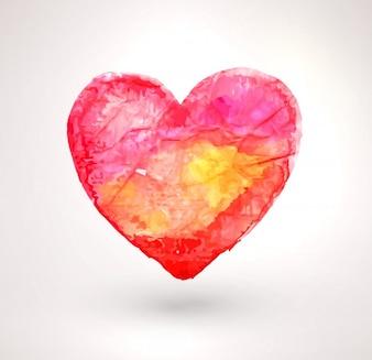 ロマンチックなカード芸術的な明るい手作り