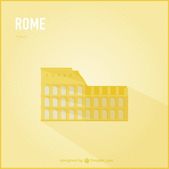 Rome vector landmark