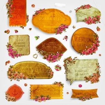 Rose decoration classical paper decorative