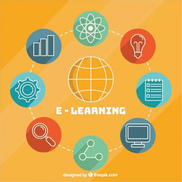 Round background with elements of online learning