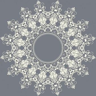 Rounded decorative frame