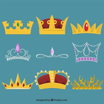 Royal crowns collection