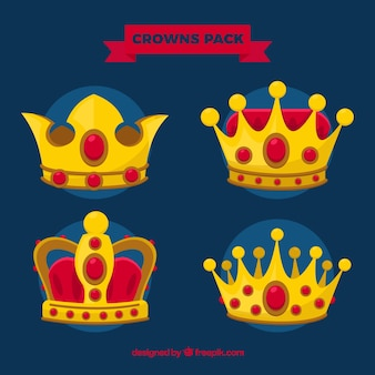 Royal crowns pack