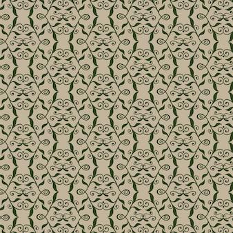 ロイヤルシームレスパターン