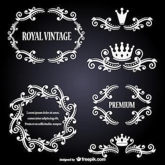 Royal vintage frames