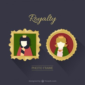 Royalty photo frames