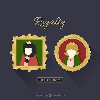 Royalty photography frames
