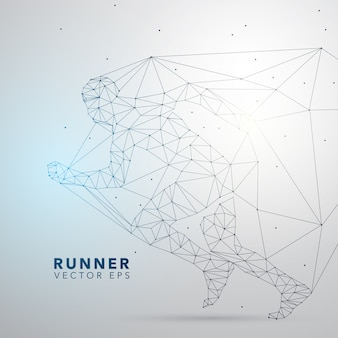 Runner background design