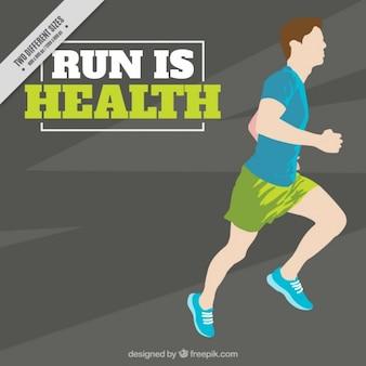 Running is health