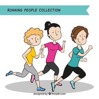 Running people pack