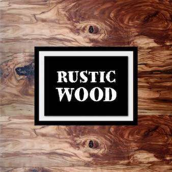 Rustic wooden background design