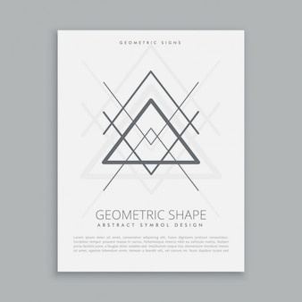 Sacred triangles poster