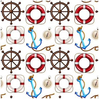 Sailing elements pattern