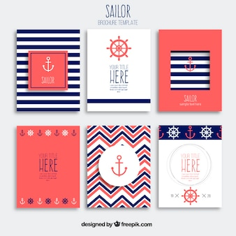 Sailor brochures
