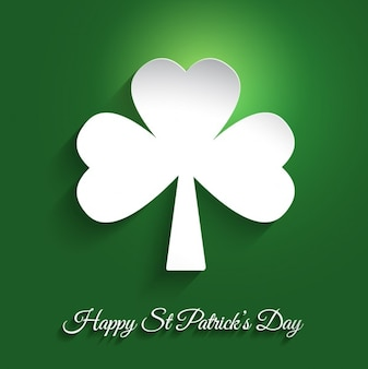 Saint Patrick Day Clover Background