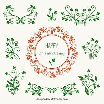 Saint Patrick Day Garlands Collection