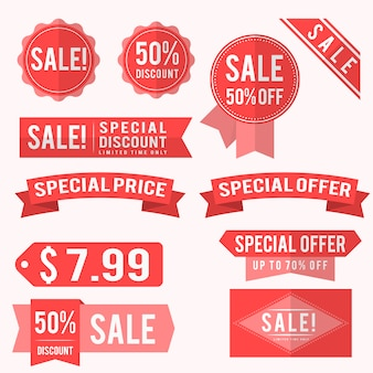 Sale labels collection