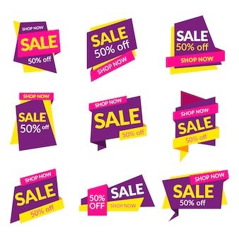 Sale labels collection