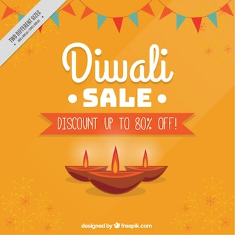 Sales background of diwali festival