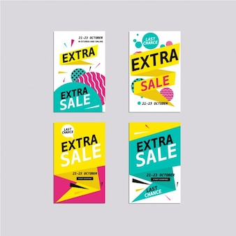 Sales cards collection