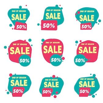 Sales logo template