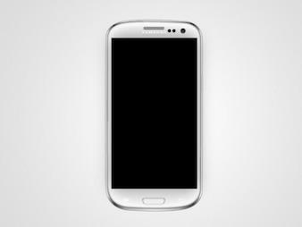 Samsung Galaxy Mobile Vector Mock Up