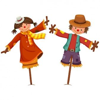 Scarecrows design