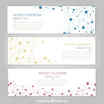 Science banner templates