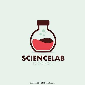 Science lab logo vector