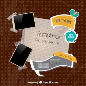 Scrapbook postcard pack