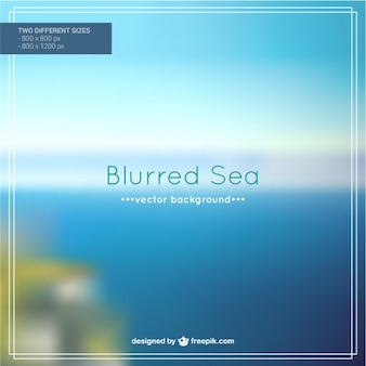 Sea abstract vector background