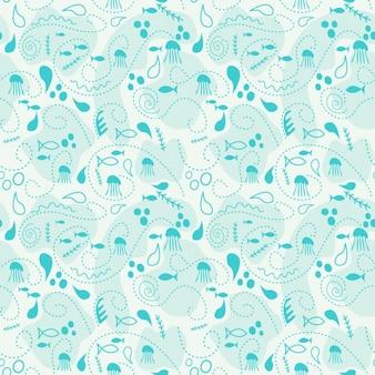 Sealife pattern desiagn