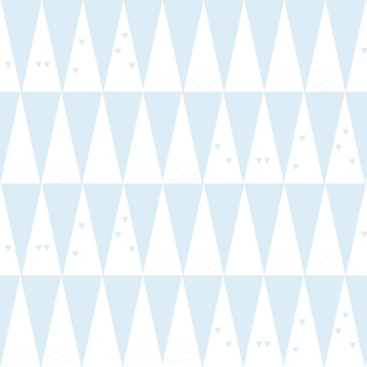 Seamless christmas pattern with pine trees