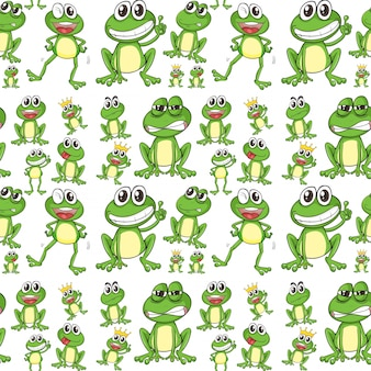 Seamless frog